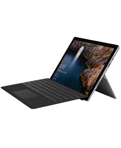 2836b24e0ea Microsoft Surface Pro 4 (1724) 2 in 1 Laptop Core m3 6th Gen (4 GB  128 GB  SSD  Windows 10 Home  12.3 inch)